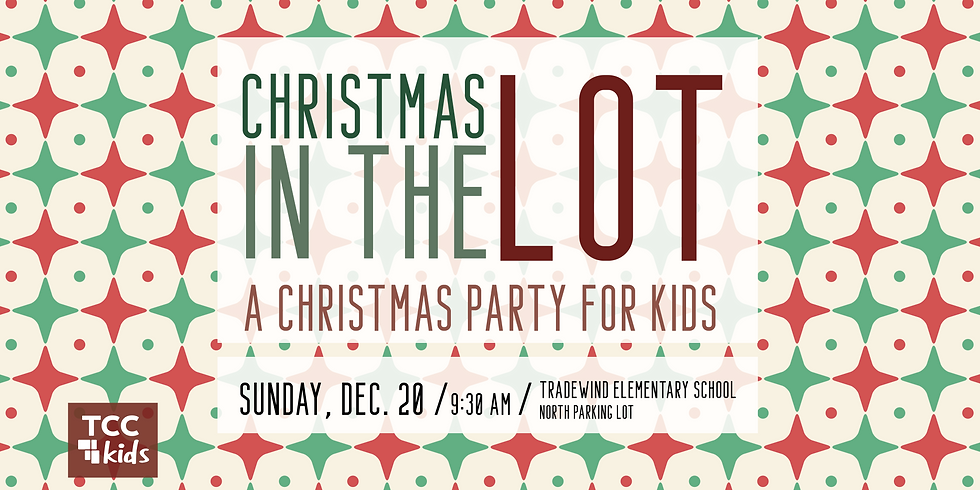 TCC Kids Christmas in the Lot