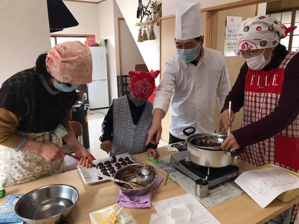 手作りチョコ教室