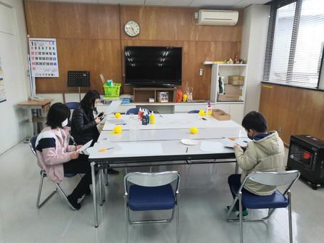 ゆきキッズ 1月16日 第2回 楽描き教室