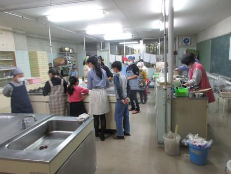 ゆきキッズ 11月14日 第1回 料理教室
