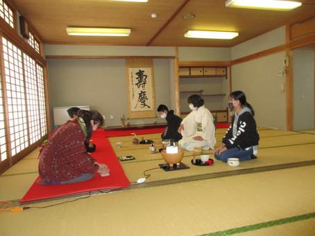 ゆきキッズ 1月9日 第3回 お茶教室