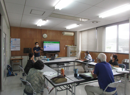 9月7日(月) スマートフォン教室 第1回 「LINE」の導入と基本操作