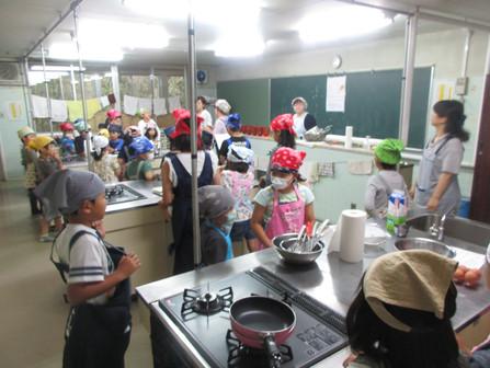 ゆきキッズクラブ 第2回 料理教室