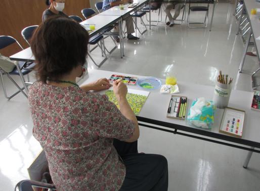 8月7日 絵画教室 第1回 ひまわり畑