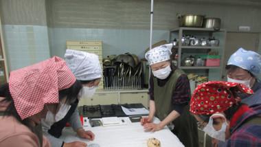 クリスマスのパン教室
