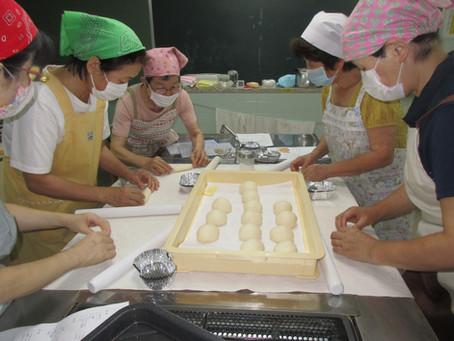 8月18日 パン教室 第2回 マヨネーズパン・チーズバンズ・手ごねの食パン