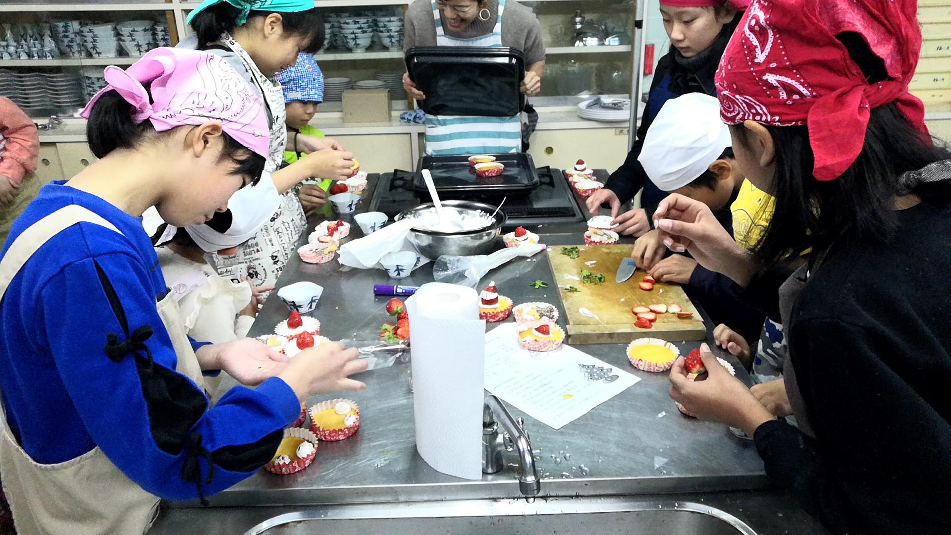 キッズ料理教室
