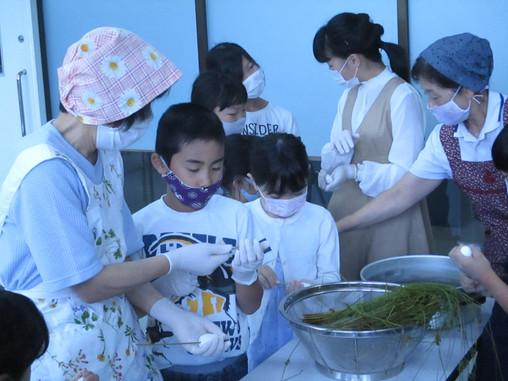 ゆきキッズ 6月26日 ちまき・かしわ餅教室