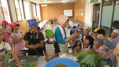 粽・柏餅作り教室
