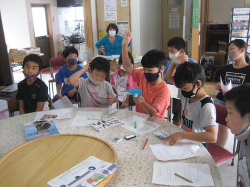 ゆきキッズ 8月7日 化石教室