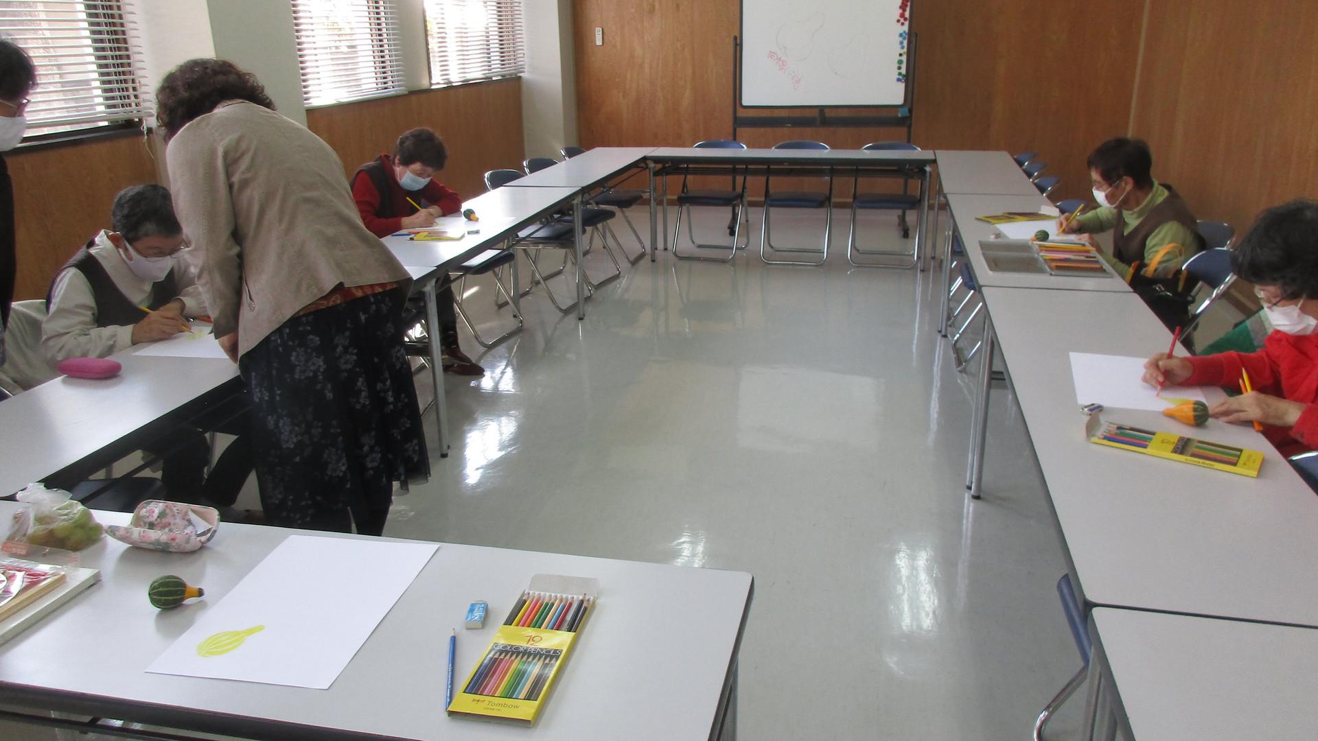 楽描き教室