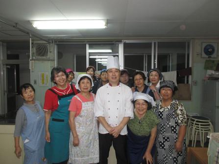 10月24日 料理教室 第3回 チョコロールケーキ