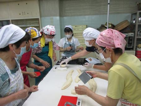 7月28日 パン教室 第1回 あんパン 手ごねパン