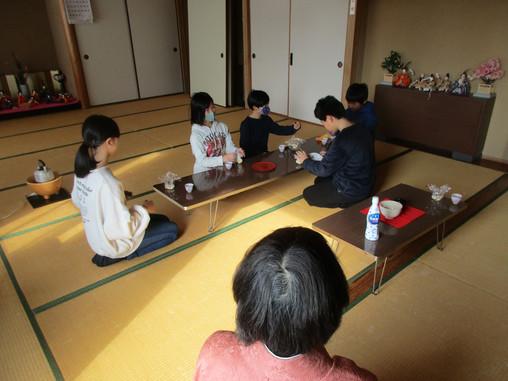 ゆきキッズ 3月6日 第4回 お茶教室