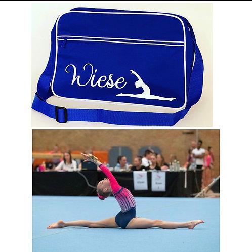 gepersonaliseerde sporttas (eigen afbeelding)