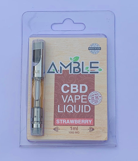 Amble CBD Liquid-Strawberry