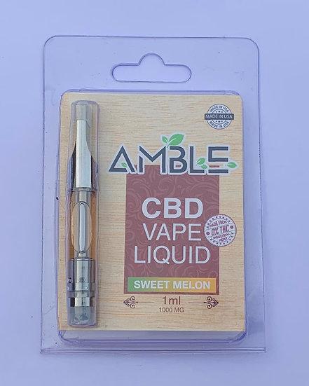 Amble CBD Liquid-Sweet Melon