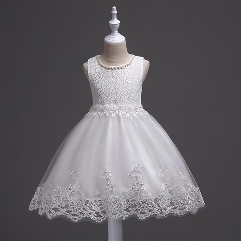 Lace Appliques Beaded Flower Girl First Communion Dresses Evening ...