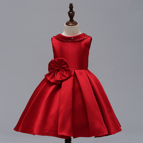 51ca8124f Flower Girl Dresses Ball Gown Birthday Outfits Wedding Dress Kids Party Wear