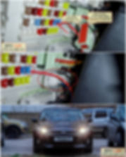 Установка ДХО на Mitsubishi Galant 2004-2008