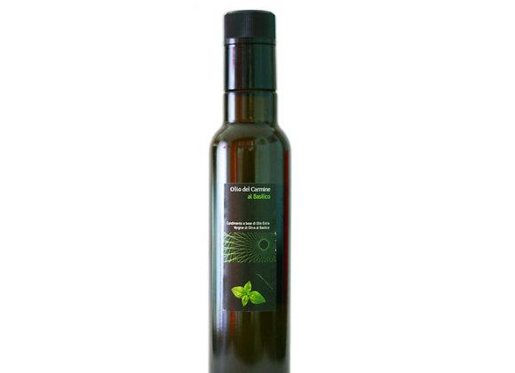 Olio di Oliva Aromatizzato al Basilico 250 ml