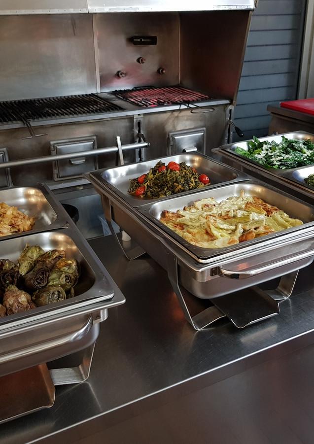 I nostri Buffet vegetariani