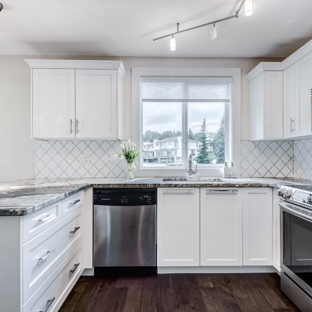 Condo Kitchen Update Calgary