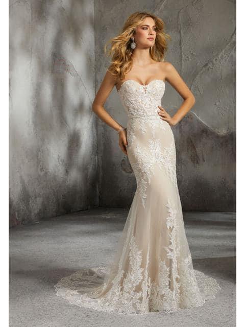 Mori Lee 8278'Lisette'Wedding Dress