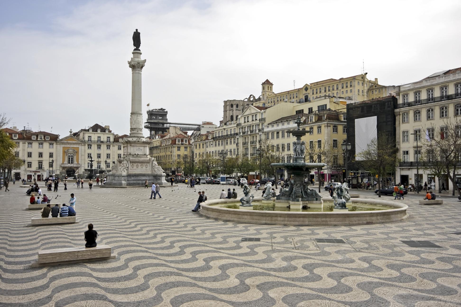 Lisbonne - Place Rossio