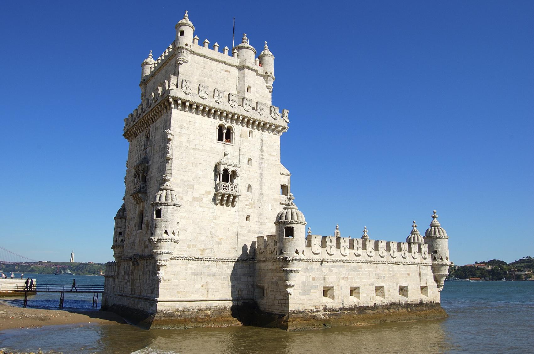 Lisbonne - Tour de Belém - Tage