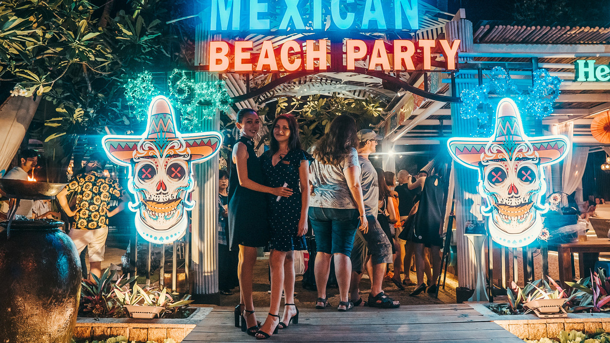 Mexican Beach Party