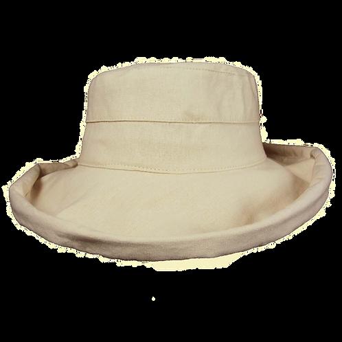 Large Brim Linen Hat