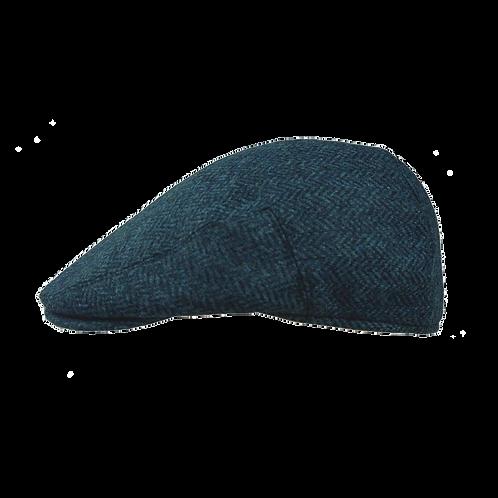 Blue Herringbone 10214