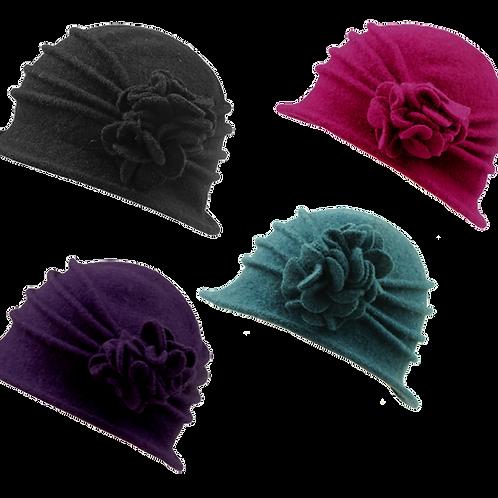 Ladies  Winter Wool Cloche Hat BH5078