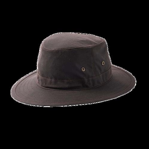 Brown Wax Bucket Hat -Failsworth