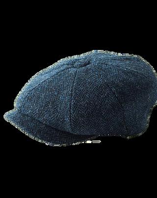 Blue Harris Tweed Carloway 3302