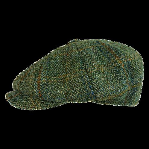 Green Harris Tweed with Rust Overcheck 10370