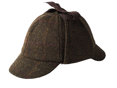 Harris Tweed Deer Stalker Olive 2017