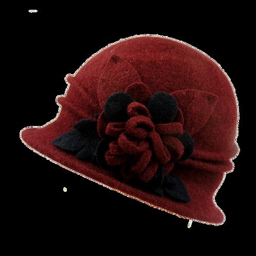 Ladies  Winter Wool Cloche Hat BH5069