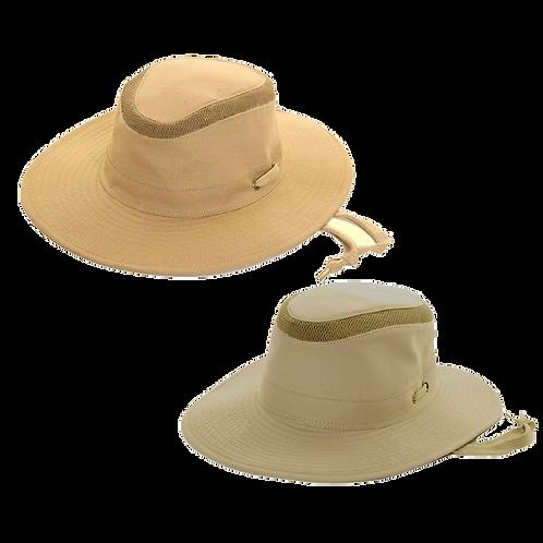 Mesh Top Large Brim Hat