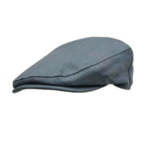 Navy Failsworth Linen Cap