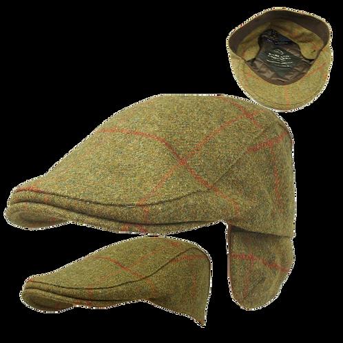 Earflap Tweed Cap
