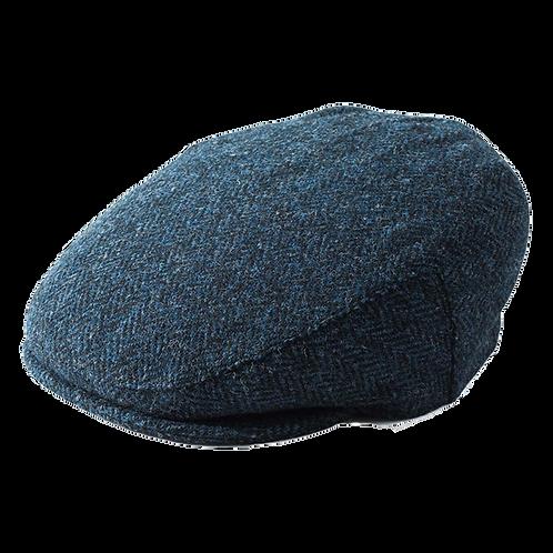 Blue Harris Flat Cap 3302