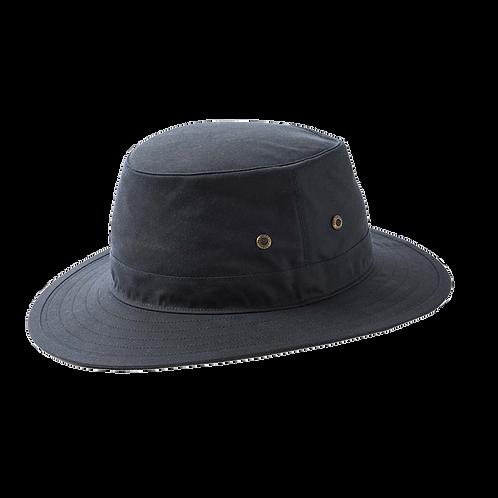 Navy Wax Bucket Hat - Failsworth