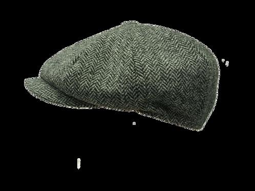 Grey Herringbone Alfie 1088