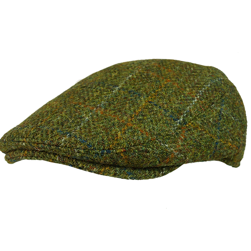 Moss Green Harris Tweed with Overcheck 10392