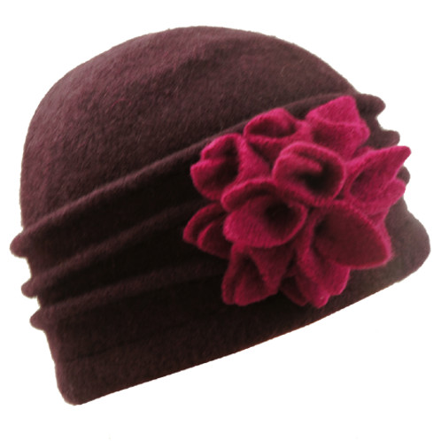 Ladies Pull on Winter Wool Hat BH5083