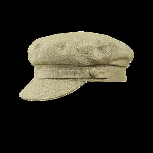 Biscuit Linen Breton Cap