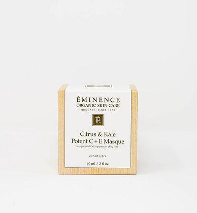 Citrus & Kale Potent C+E Masque