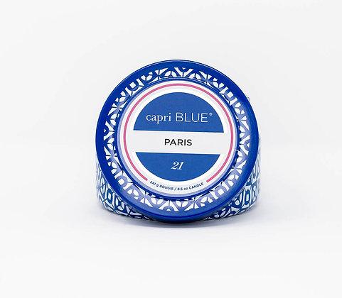 Paris Tin Candle